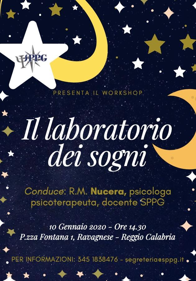 """Workshop """"II laboratorio dei sogni"""""""