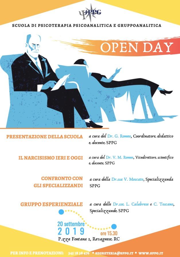 """Open Day """"Il narcisismo ieri ed oggi"""""""