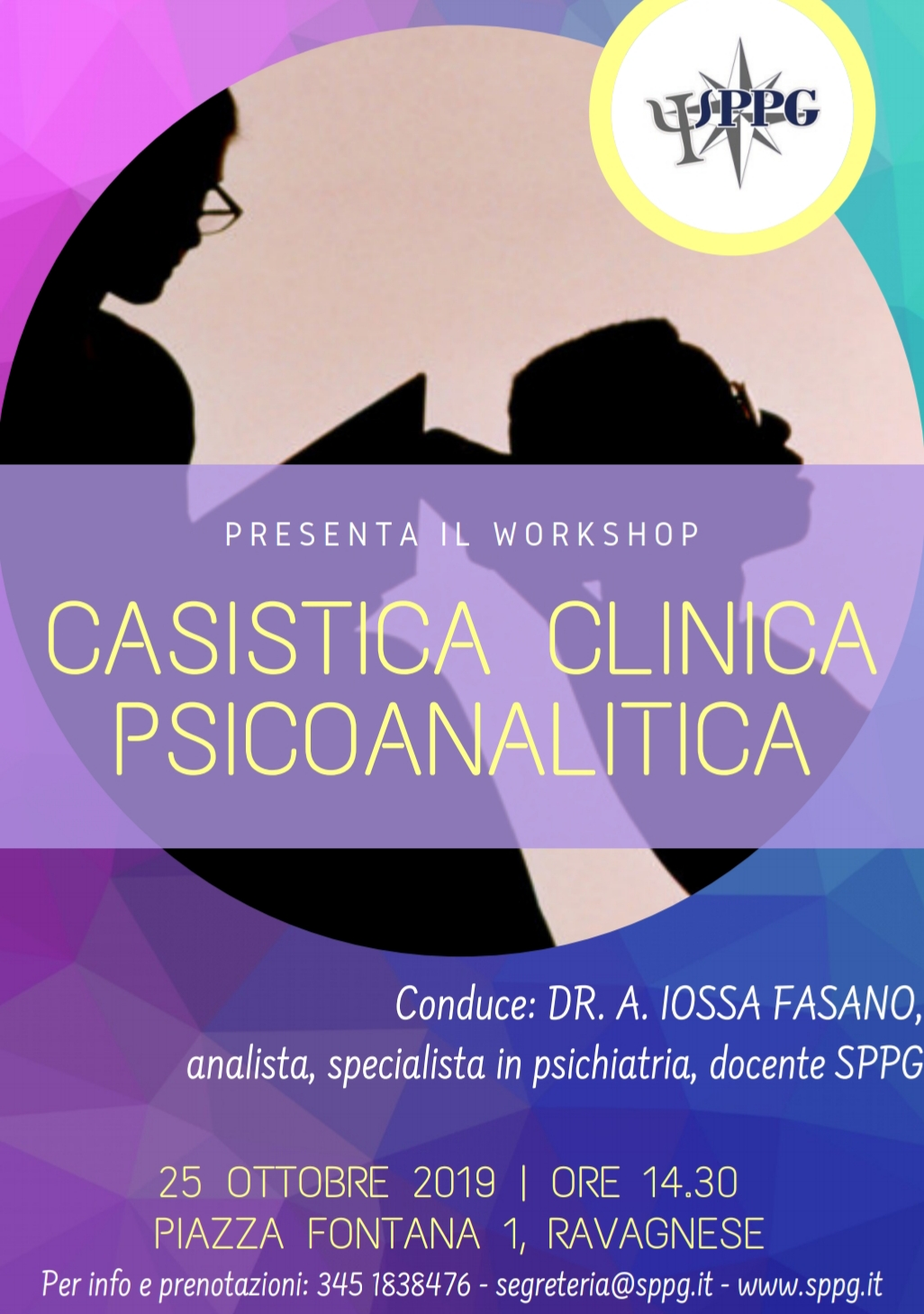 "Workshop ""Casistica Clinica Psicoanalitica"""