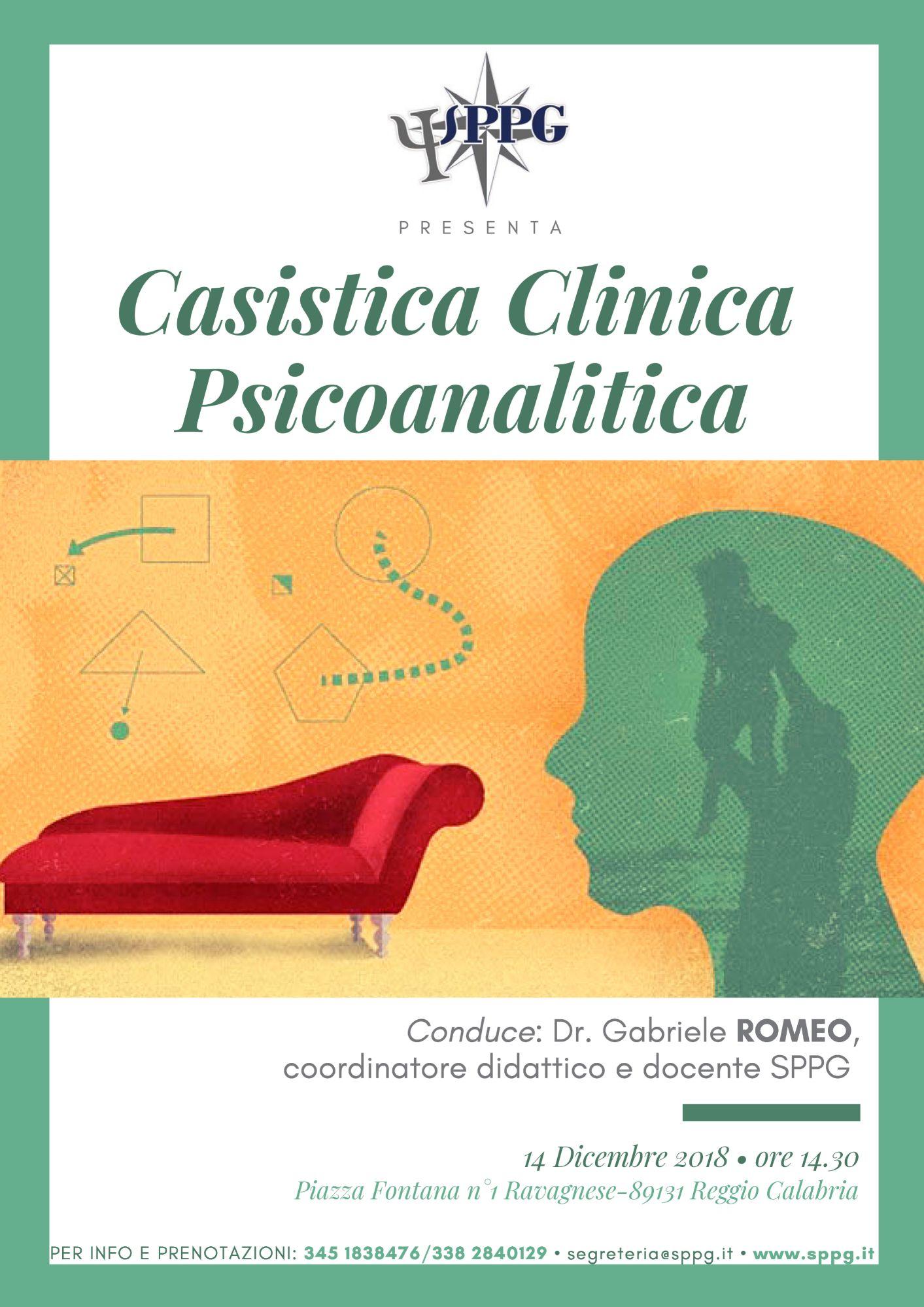 Casistica clinica psicoanalitica