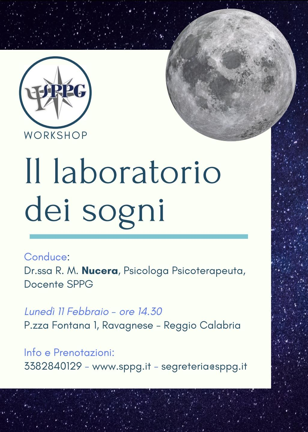 "Workshop ""II laboratorio dei sogni"""